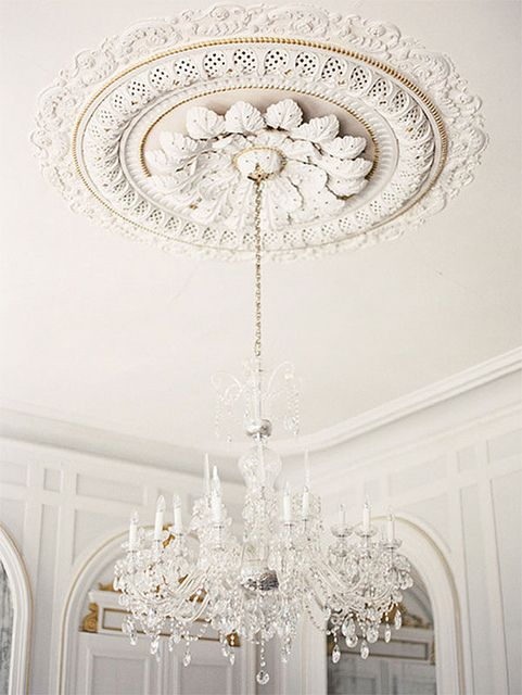 sophisticated vintage molding - Ceiling Molding Design Ideas