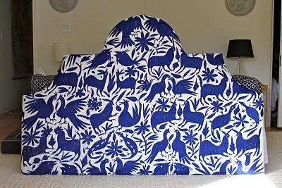 DIy king size upholstered headboard