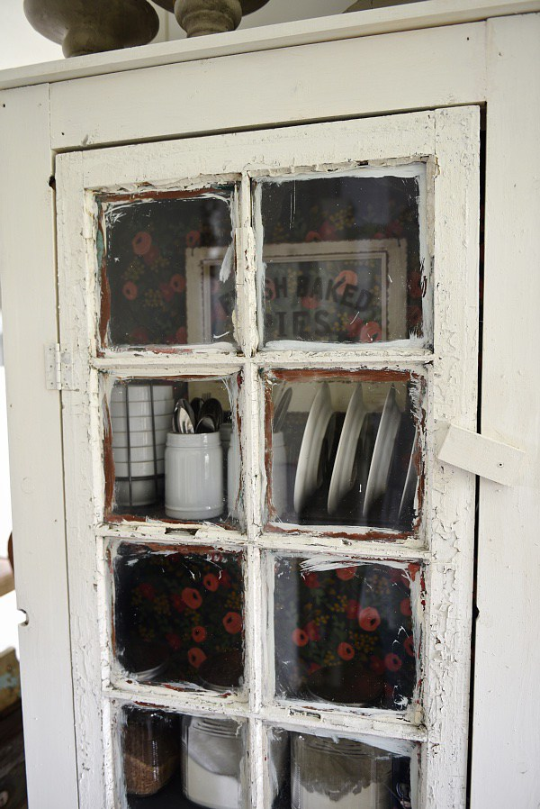 Beau Vintage Inspired DIY Old Window Floor Cabinet