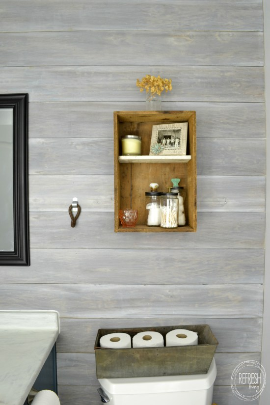 How to whitewash wood in the best way (via refreshliving)