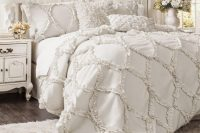 02 all-white shabby chic bedroom for a girl