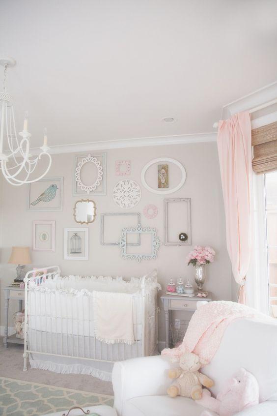 Creamy Soft Shabby Chic Nursery