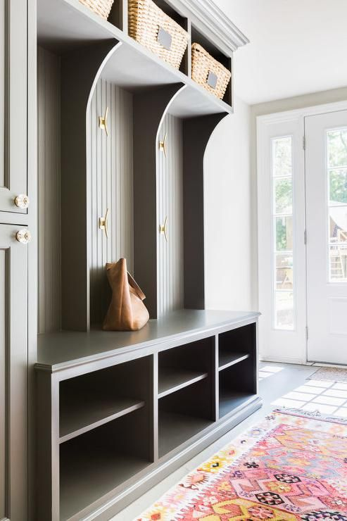 Mudroom Storage Units : Small mudroom and entryway storage ideas shelterness