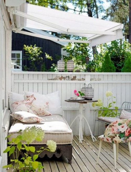 27 shabby chic terrace and patio d cor ideas shelterness - Terrazas de exterior ...