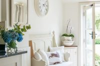 04 shabby chic entryway with rustic touches