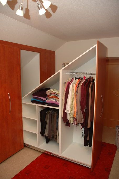 attic clothes drawers