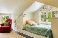 06 cozy attic sleeping nook