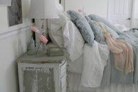 06 greyish shabby chic bedroom