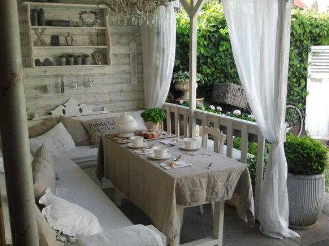whitewashed woodedn shabby chic veranda