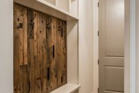 07 built-in mudroom compartments and bench
