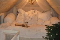 07 cozy shabby chic sleeping nook in the attic