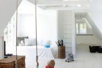 07 modern attic kids room