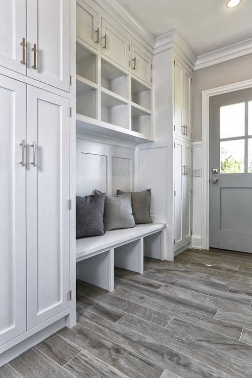Mudroom Locker With Cabinets