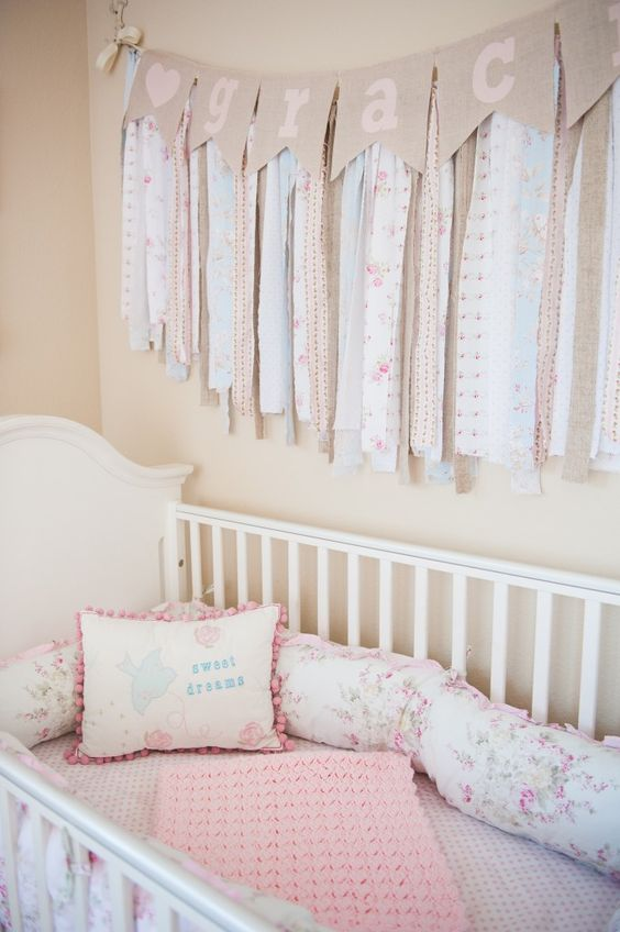 6 shabby chic nursery d cor tips and 24 ideas shelterness. Black Bedroom Furniture Sets. Home Design Ideas