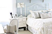 08 serenity shabby chic bedroom with white furniture