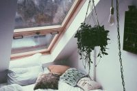 09 cozy sleeping nook with a window overhead