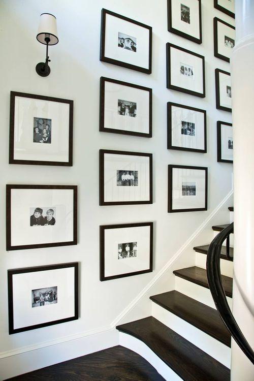 black frames in rows