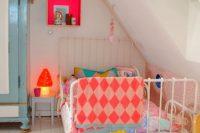 11 bold attic girls' room