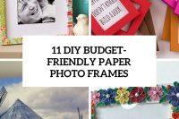 11-diy-budget-friendly-paper-photo frames-cover