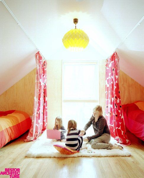 Room For Two Shared Bedroom Ideas: 30 Cozy Attic Kids Rooms And Bedrooms