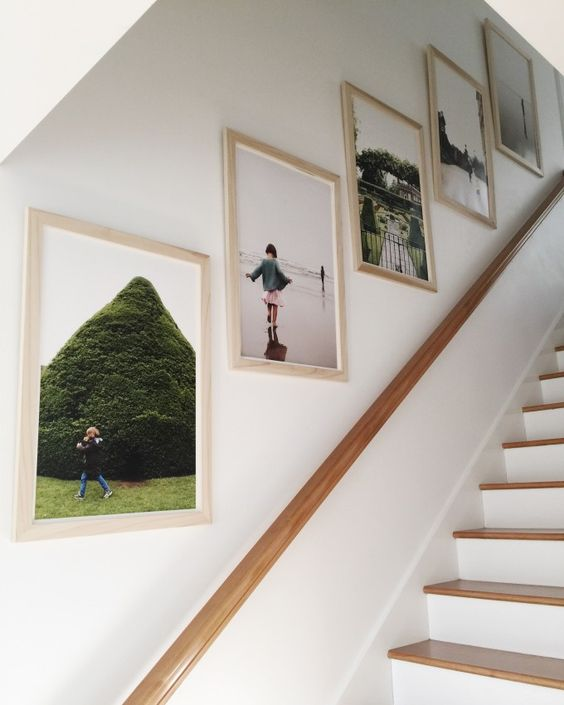 Wall Decor Up Stairs : Stairway gallery wall ideas to get you inspired