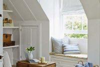 13 attic window reading nook