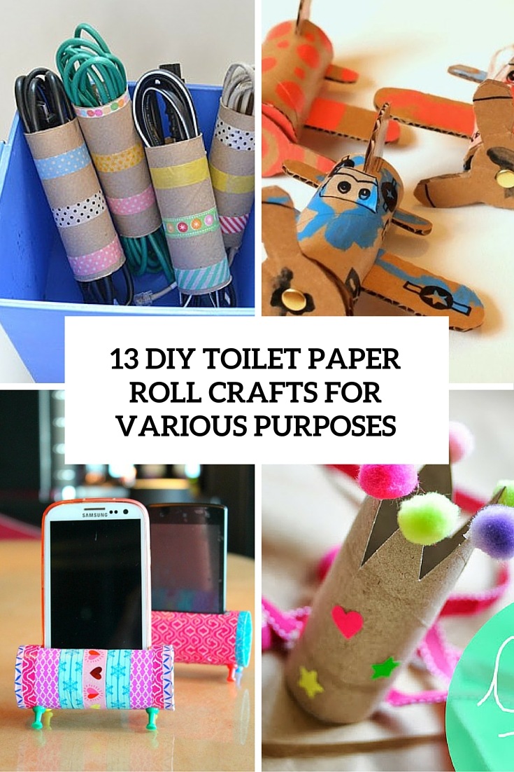 13 diy toilet paper roll crafts for various purposes shelterness 13 diy toilet paper roll crafts for various purposes cover jeuxipadfo Images
