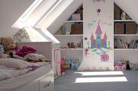 13 little princess attic kids' room
