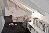 14 cozy attic reading nook on the floor