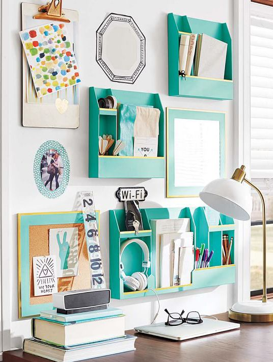 4 desk organization ideas and 25 examples shelterness - How to organize your desk at home for school ...