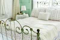 15 mint cabinet and a shabby patina bed