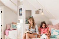 15 modern attic shared girls' room