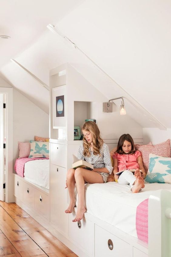 White Bunk Beds For Girls Room Bedroom Ideas