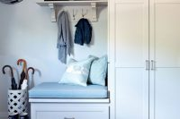 16 tall mudroom cainets for storage