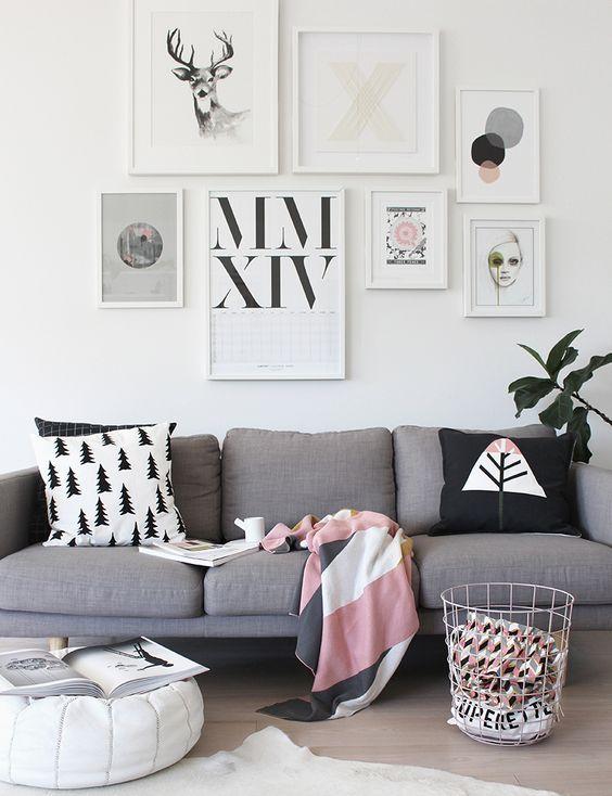 all white frames