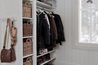18 open shelving could work in the mudroom too