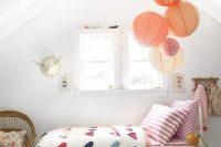 19 sweet attic kids' room for a girl