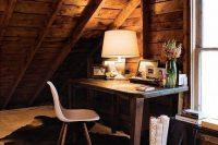 20 attic home office nook