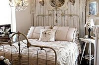 20 shabby chic bedroom with rustic touches