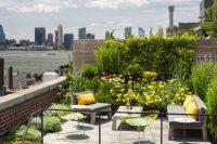 21 bold floral rooftop garden