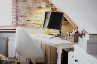 21 industrial attic home office nook