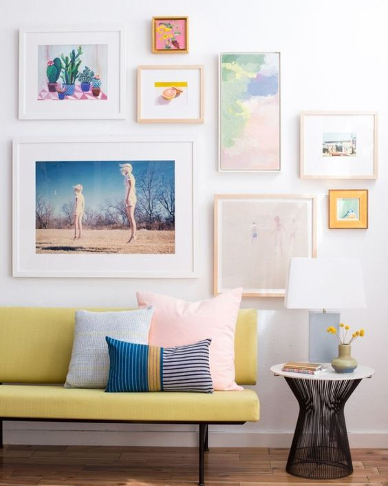 neutral-colored frames