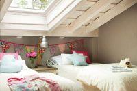 22 vintage attic shared girls' room