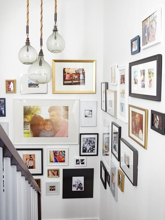 mismatched frames with bold shots