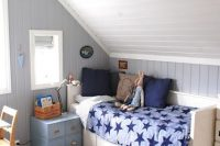 24 attic boy's room in the shades of blue