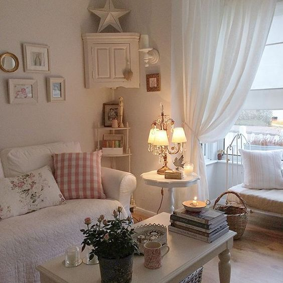 26 charming shabby chic living room d233cor ideas shelterness
