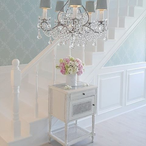 crystal chandelier for French chic style