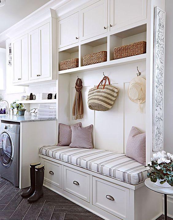 Mudroom Laundry Ideas on Laundry And Mud Room Designs