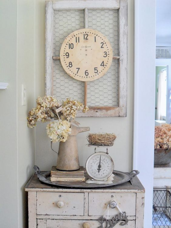 25 shabby chic hallway and entryway d cor ideas shelterness for Style romantique deco
