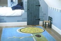 26 castle-themed boys' attic room